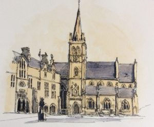 The Marketplace, Durham by Quilliam Collister