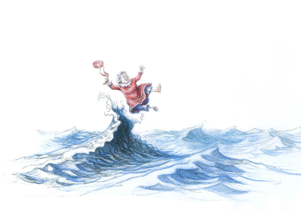 Granny on a Wave by David Elliot