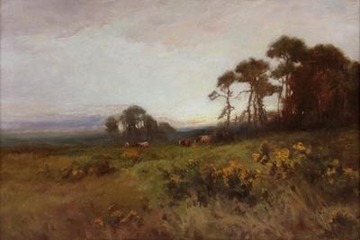 Painting by Aumonier James