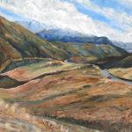 Painting by Barbara Jaine