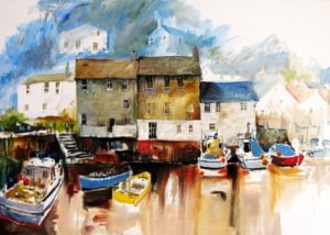 Polperro by JK Reed