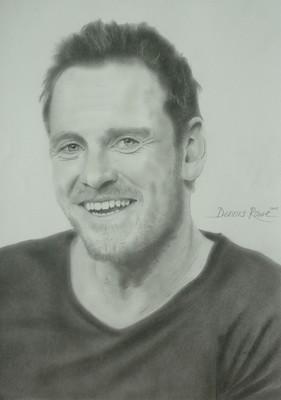 Portrait by Dennis Rowe