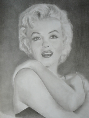 """Marilyn Monroe"" by Dennis Rowe"
