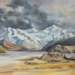 Mt Sunday-Rangitata Valley by Gray Leonard
