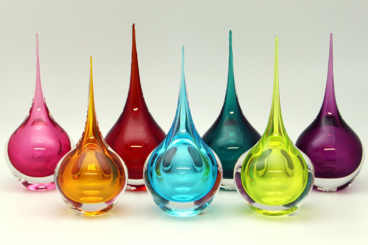 Glass Mini Floats by Chris Jones at Form Gallery