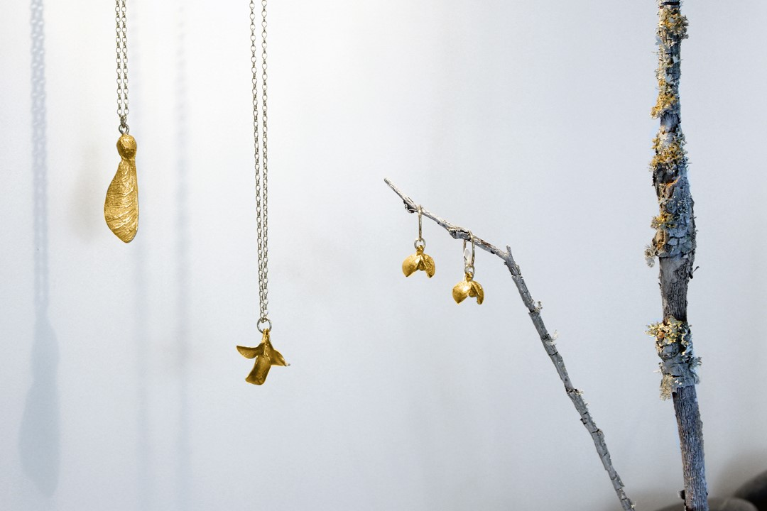 Jewellry by Sophie Divett at Form Gallery