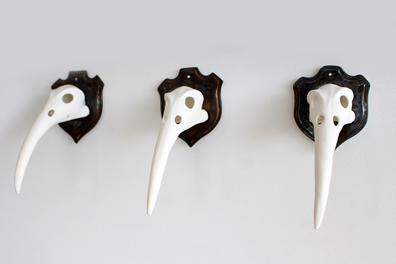 Trophy Skulls by Tatyanna Meharry at Form Gallery