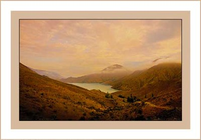 """Lake Benmore"" photography by Geoff Cloake"