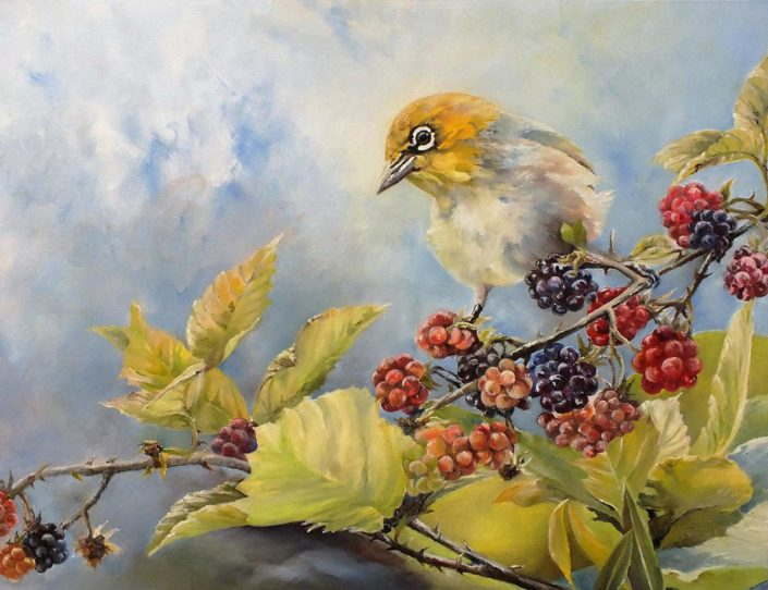Painting by Lynne Leonard