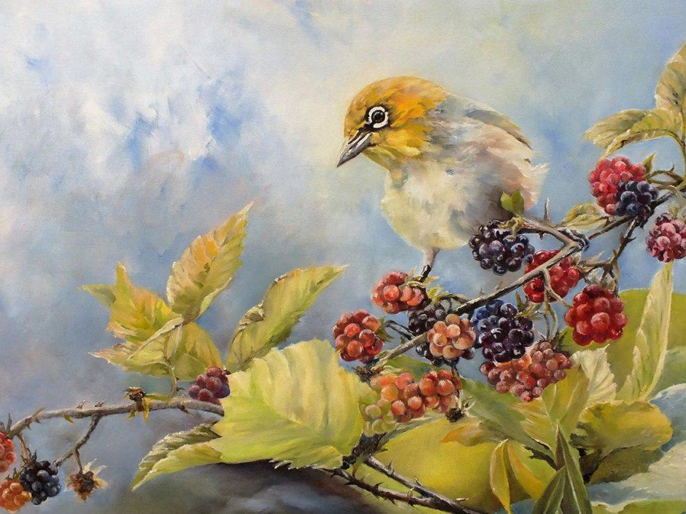 Painting by Lynne Leonard