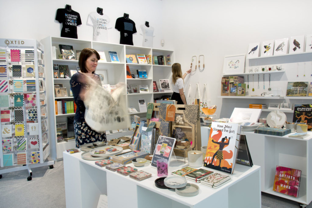 The shop at Ashburton Gallery