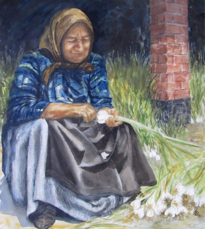 Garlic Cleaner by Sue Simpson