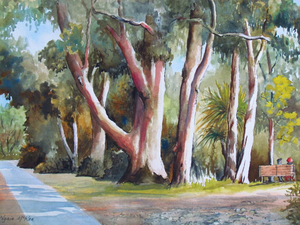 Gums by the Liffey by Ngaio McKee