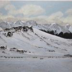Winter Castle Hill by John Burtt