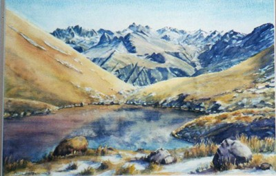 Painting by Joan Batten