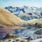 Painting by Joan Batten