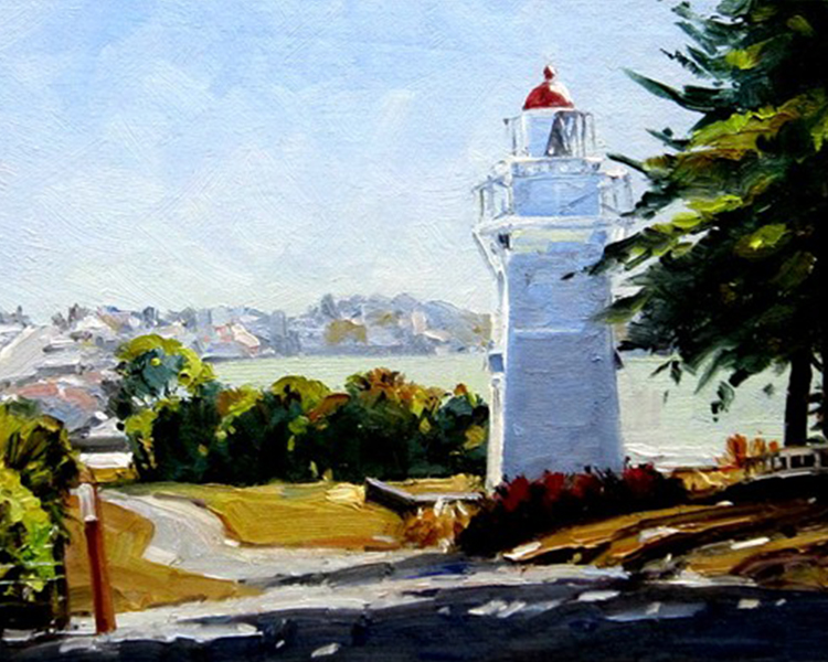 """Timaru Lighthouse"" by John Brasell"