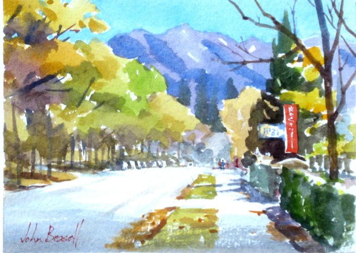 Hanmer Avenue by John Brasell