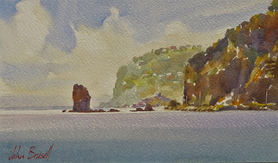 Shag Rock, Scarborough by John Brasell