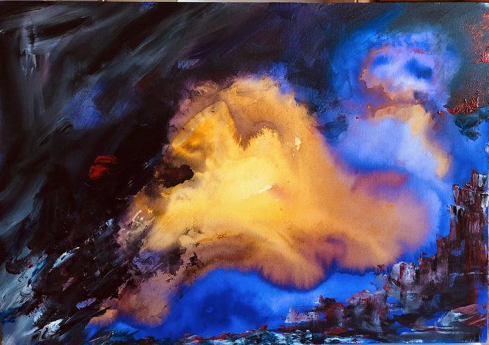 Painting by Jennifer Harrison