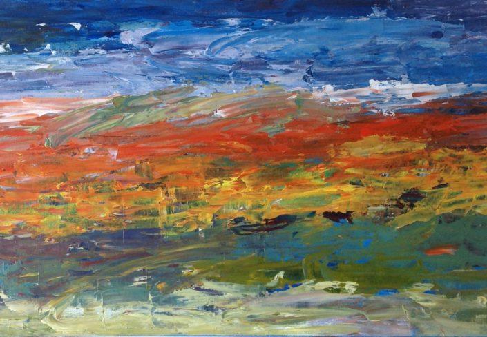 Elemental Sunset by Jennifer Harrison
