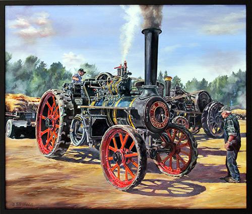 Traction Steam by Jennifer Stebbings