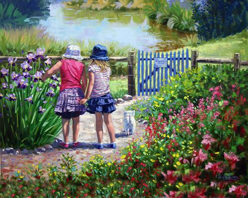 Painting by Livia Dias