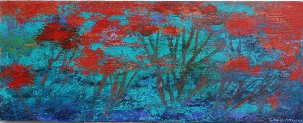"""""""Puhutukawa by the Sea"""" by Lucy Mhoma"""