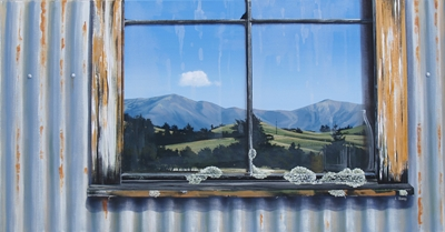 """Bainham Window"" by Linelle Stacey"