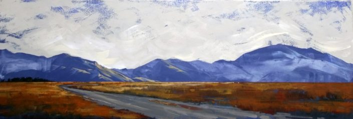 """Tekapo Blue"" by Linelle Stacey"