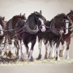 Leading Them Into the Turn by Ray Erridge