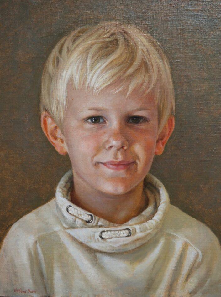 Portrait of Deacon by Svetlana Orinko