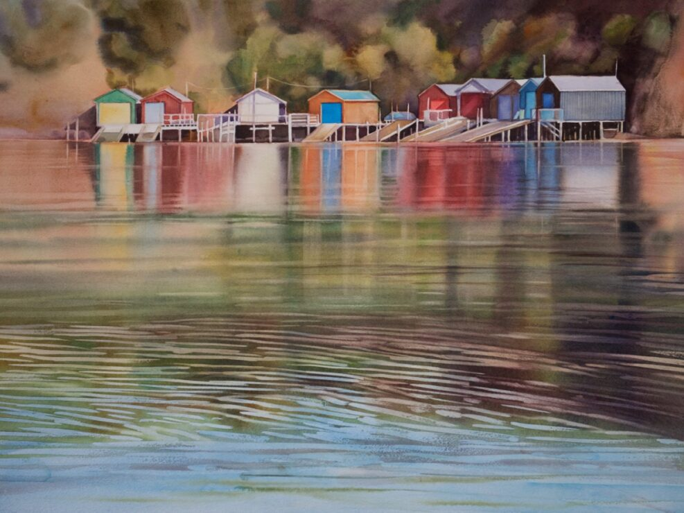 Robinson's Bay by Svetlana Orinko