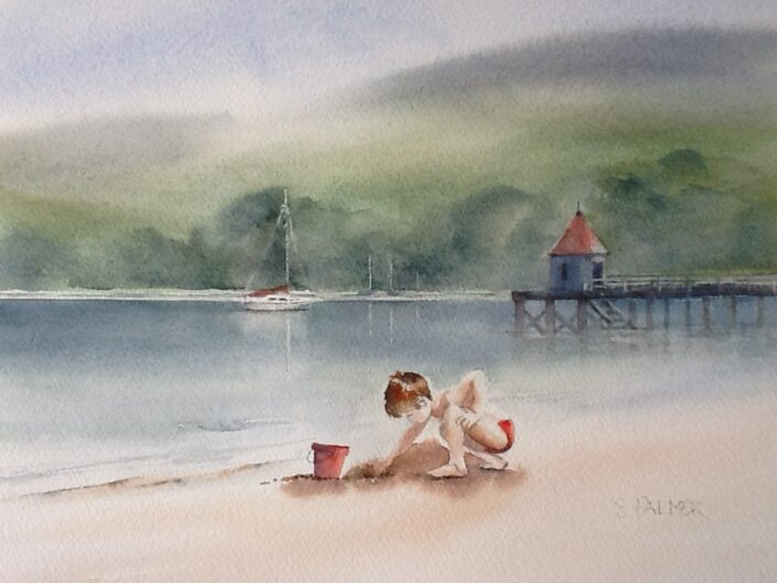 Watercolour by Sandra Palmer