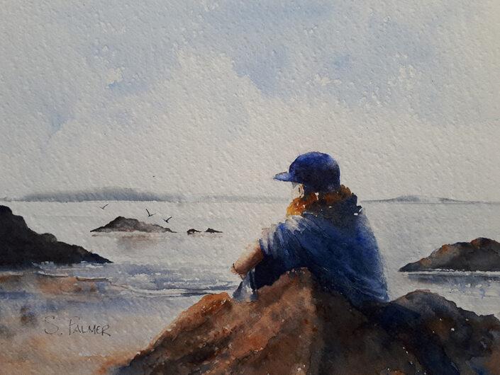 Contemplation by Sandra Palmer