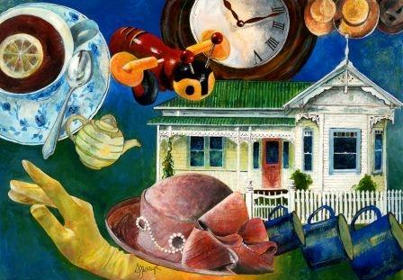 """""""Buzzy Bee"""" by Sue Waugh"""