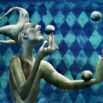 Juggler by Sue Waugh