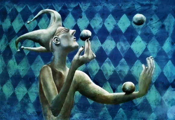 """""""Juggler"""" by Sue Waugh"""
