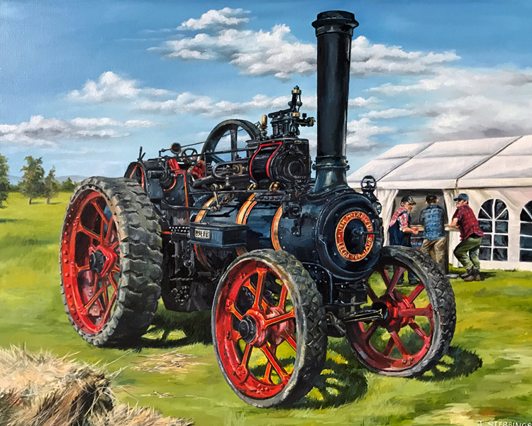 Traction Engine by Jennifer Stebbings