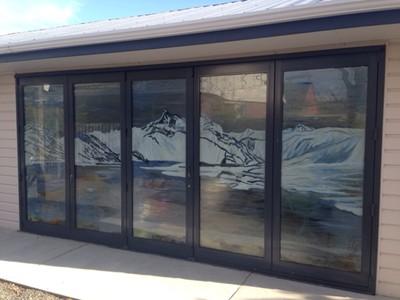 Bifold doors by Vivienne Bashford