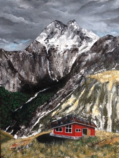 Painting by Veroniqe Tatoue