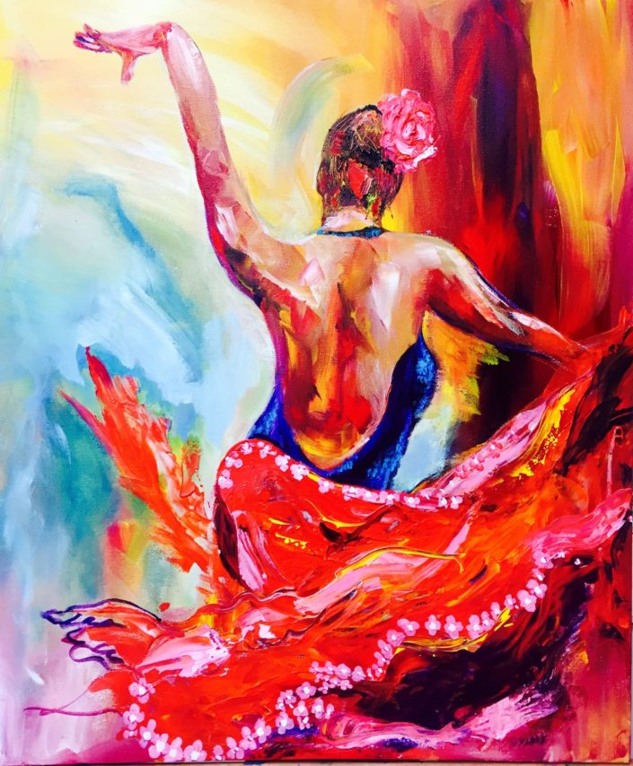 Flamenco by Corina Hazlett