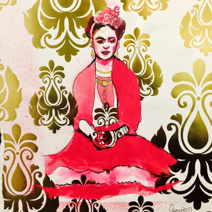 Frida by Corina Hazlett