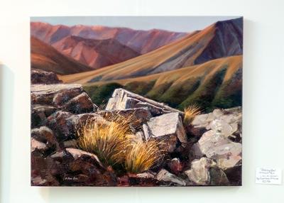 Painting by Svetlana Orinko at Lakeland Art Gallery