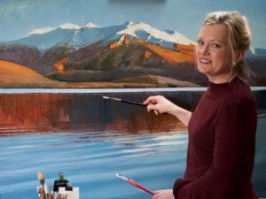 Svetlana Orinko at work