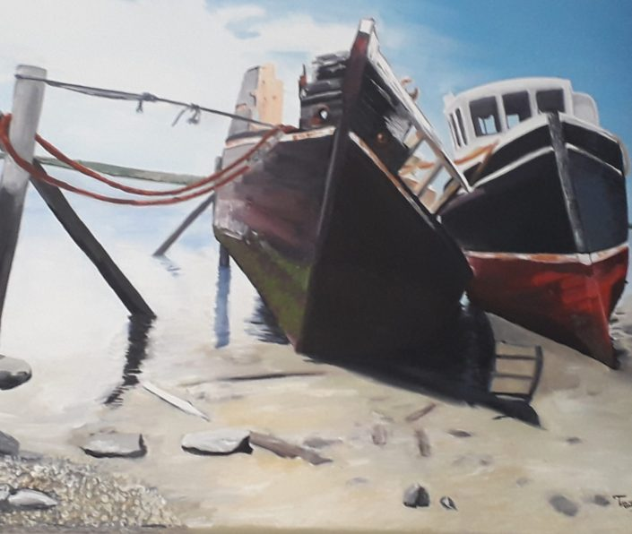Bluff Shipwrecks by Tracey Pascoe