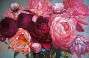 Peonies by Svetlana Orinko