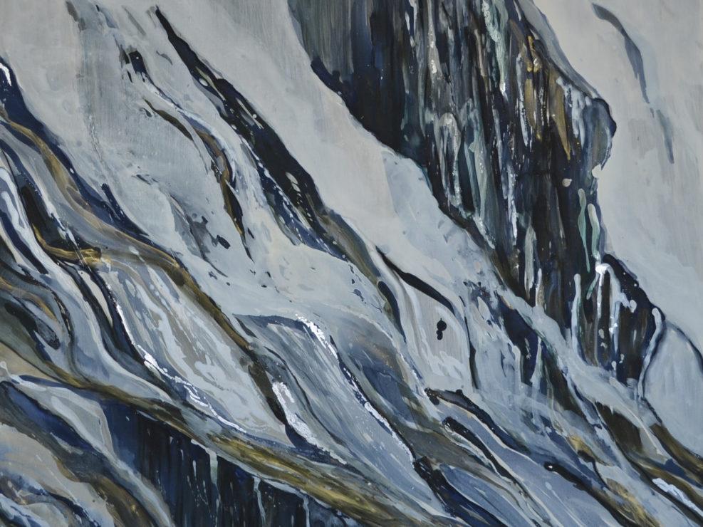 Falling Curtain by Viv Wotten