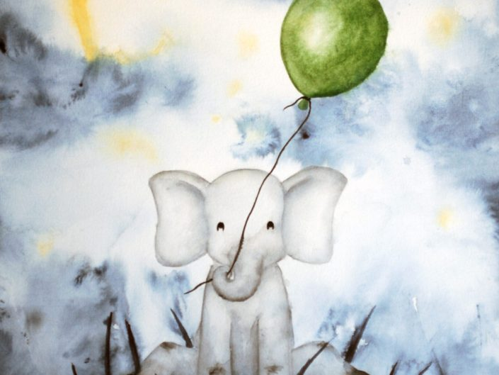 Elephant 2 by Nikki Parker