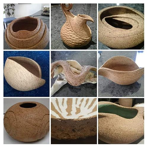 Ceramic art by Barb Gaeth